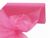 152.40cm x 9.14m Organza Fabric Mini Bolt - Hot Pink