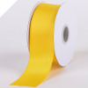 1.58cm Satin Ribbon-Yellow (Bright) - 91.44m Reel
