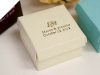 Personalized 6.35cm x 6.35cm Ivory Favour Boxes - 100pc