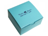 Personalized Cake Box - Turquoise - 100 pcs