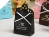 Personalized Sacchetto Black Favour Box - 100pc