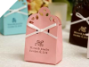 Personalized Sacchetto Pink Favour Box - 100pc