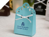Personalized Sacchetto Turquoise Favour Box - 100pc
