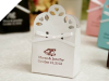 Personalized Sacchetto White Favour Box-100pc