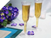 Champagne Flutes-Clear-12/pk