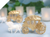 Cinderella Carriage-Gold-1/pk