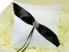 Black & White Ring Pillow