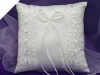 Classic Style Ring Pillow-Ivory
