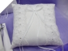 Classic Style Ring Pillow-White