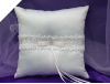 Elegance Wedding Ring Pillow-Ivory