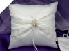 Pearl Cluster Ring Pillow-White