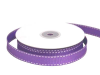 1.58cm Stitched Grosgrain - Purple