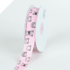 Little Bear Grosgrain Ribbon - Pink