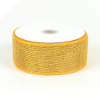10.16cm Metallic Deco Mesh Ribbon-Gold