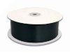 5.08 cm Satin Ribbon-Black