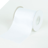 10.16cm Satin Ribbon-White