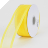 2.22cm Satin Edge Organza-Yellow (Bright)