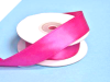 2.22 cm Wired Satin Ribbon - Fuchsia/Hot Pink