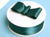 3.81 cm Satin Ribbon-Hunter Green