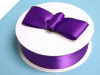 3.81 cm Satin Ribbon-Purple