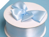 5.08 cm Satin Ribbon-Baby Blue