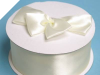 Car Ribbon (Satin) - Ivory