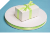 0.95 cm Satin Ribbon-Apple Green