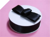 3.81 cm Satin Ribbon-Black