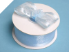 3.81cm Satin Edge Organza-Baby Blue