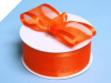 3.81cm Satin Edge Organza - Orange