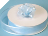 2.22cm Satin Edge Organza-Baby Blue