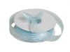 2.22 cm Satin Stripe Organza - Blue