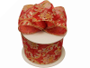 6.35cm Feng Shui Wired Red Ribbon