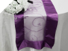 Motif Embroidery Table Runner - Eggplant