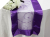 Motif Embroidery Table Runner - Purple