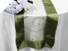 Motif Embroidery Table Runner - Willow Green