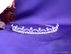 Faux Diamond Wedding Tiara