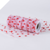 Polka Dot Tulle Roll 15.24cm x 9.14m - Red