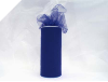 15.24cm x 22.86m Tulle Roll - Navy Blue
