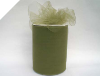 15.24cm x 91.44m Tulle Roll - Willow