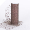 Sparkle Dot Tulle Roll 15.24cm x 9.14m - Chocolate