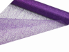48.26cm x 9.14m Glittered Scrunch Mesh - Purple