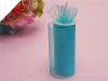 Shimmering Organza Tulle - Turquoise