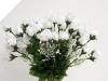 Mini Rose Buds - White 1-bunch