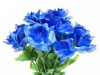 Silk Open Rose - Royal 1-bunch