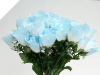 Silk Rose Buds - Baby Blue 1-bunch