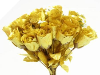 Silk Rose Buds - Gold 1-bunch