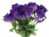 Silk Rose Buds - Purple 1-bunch
