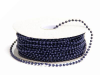 3mm String Beads-Navy Blue-21.94m