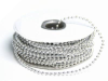 3mm String Beads-Silver-21.94m